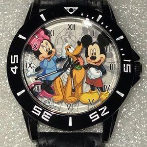 Accessories - New Mickey, Minnie, & Pluto Novelty Watch